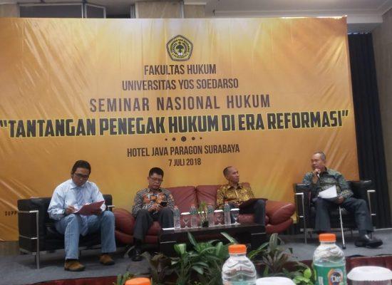 Seminar Nasinal Fakultas Hukum Tahun 2018