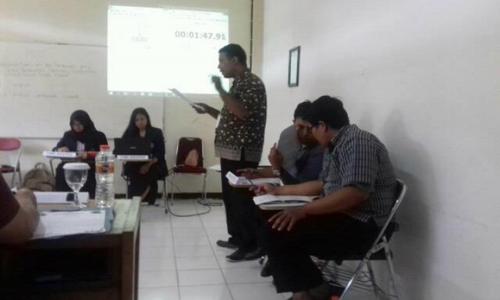 Kompetisi Debat Hukum Tingkat Nasional Brawijaya 2016