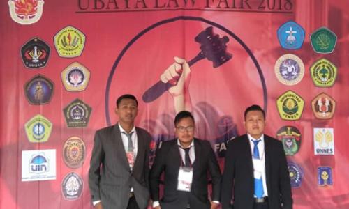 Kompetisi Debat Hukum Tingkat Nasional Ubaya 2018