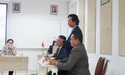 Kompetisi Debat Hukum Tingkat Nasional Ubaya 2019
